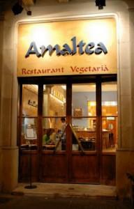 Amaltea: mundo vegetariano en medio del Eixample