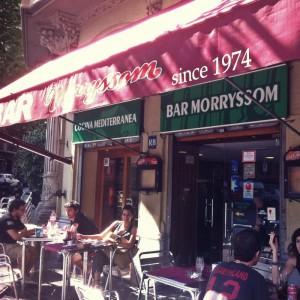 Bar Morryssom: tapeando como en casa