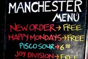Manchester Bar: donde encontrarías a Ian Curtis