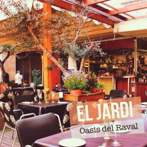 El Jardi: el oasis bar del Raval