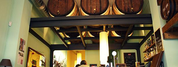 Interior de Bodega Lo Pinyol