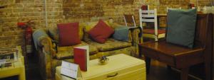 Interior de Babelia Books & Café