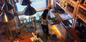 Interior Café Martí