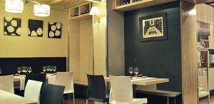 Interior del Espai Gastronòmic de Mas Bacus
