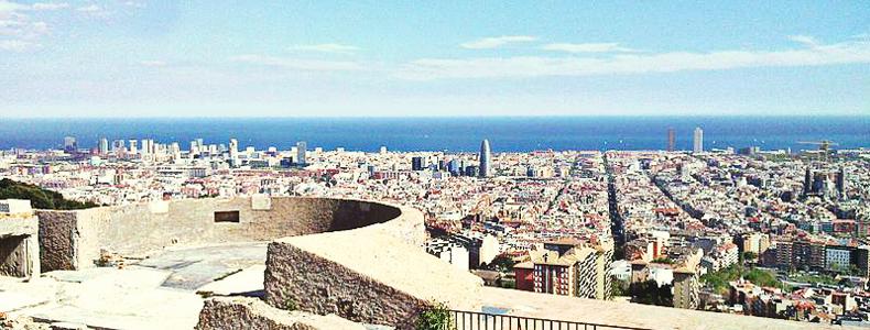 Mirador Baterias antiaéreas Barcelona
