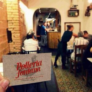 Polleria Fontana: tradición y platillos en Gracia