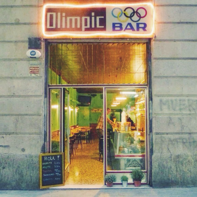 Olimpic bar in out barcelona - Cocinas olimpic ...