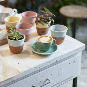 Espai Joliu: plants and coffee