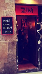 "Bar Zim: vinos, quesos i ""petons"""