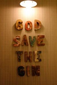 Bobby Gin: God save the gin!