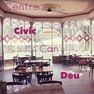Centre Cívic Can Deu: el centro social de Les Corts