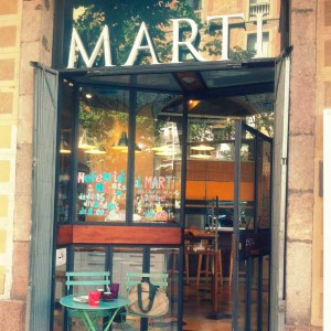 Café Marti: la cafeteria-panadería italiana