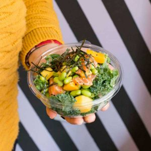 The Hip Fish: poke bowls & sushi burritos