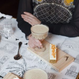 La Dama: restaurante modernista